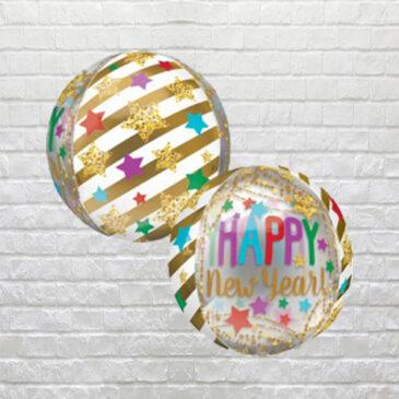9854 New Year Stars Balloon