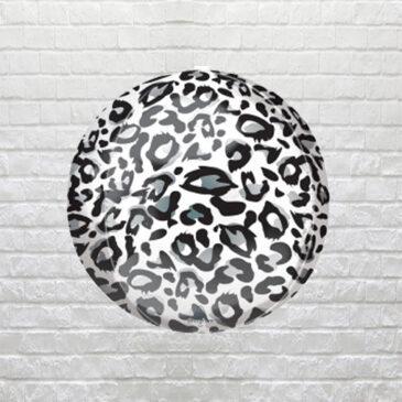 9855 Snow Leopard Print Balloon