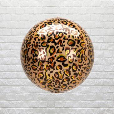 9856 Leopard Print Balloon