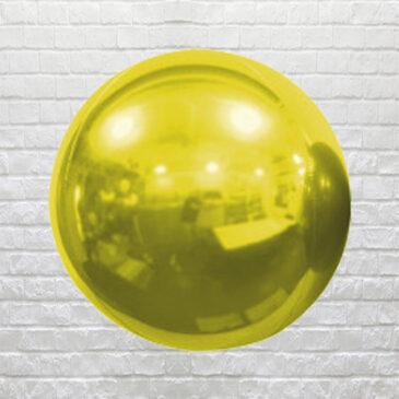 9858 Gold Globe Balloon