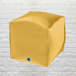 9864 Gold Square Balloon