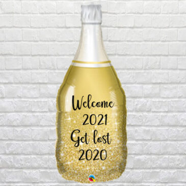 9953 Personalised Prosecco Bottle Balloon
