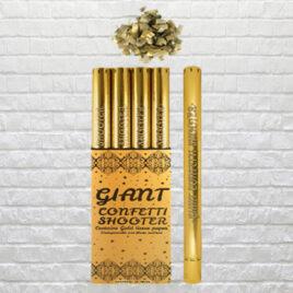 9703 Gold Colour Paper Confetti – Small Cannon