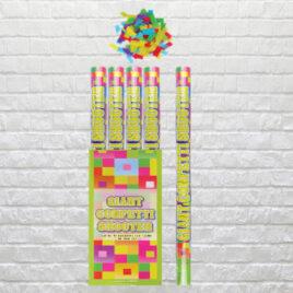 9700 Multi-Coloured Paper Confetti – Large Cannon