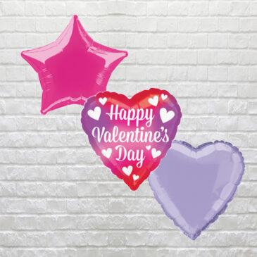 6002 Happy Valentine's Day Pink
