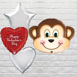 6301 Cute Monkey Combo