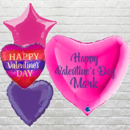6305 Giant Pink Valentine Heart Combo
