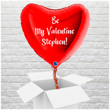 6400 Giant 3ft Personalised Red Valentine Heart