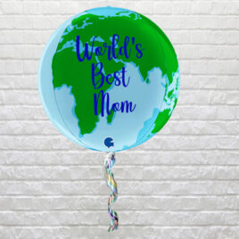 7054  Earth Globe Balloon