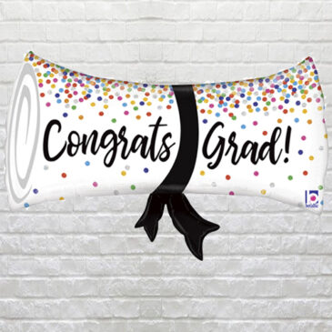 Grad Diploma Balloon