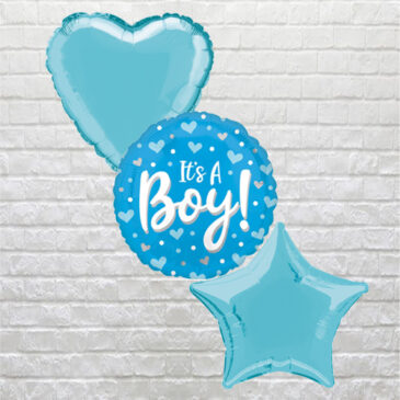 It's a Boy with Hearts