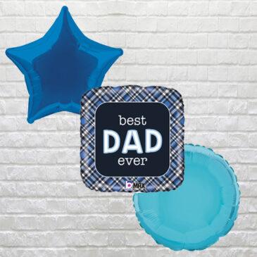 Best Dad Ever (tartan)