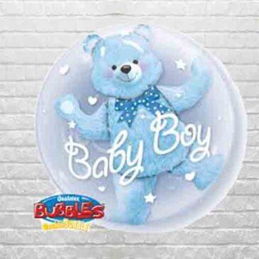 Baby Boy Double Bubble