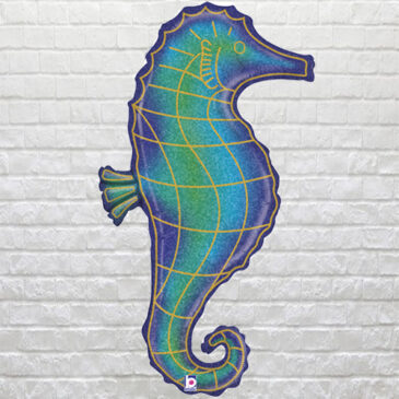 Glitter Seahorse