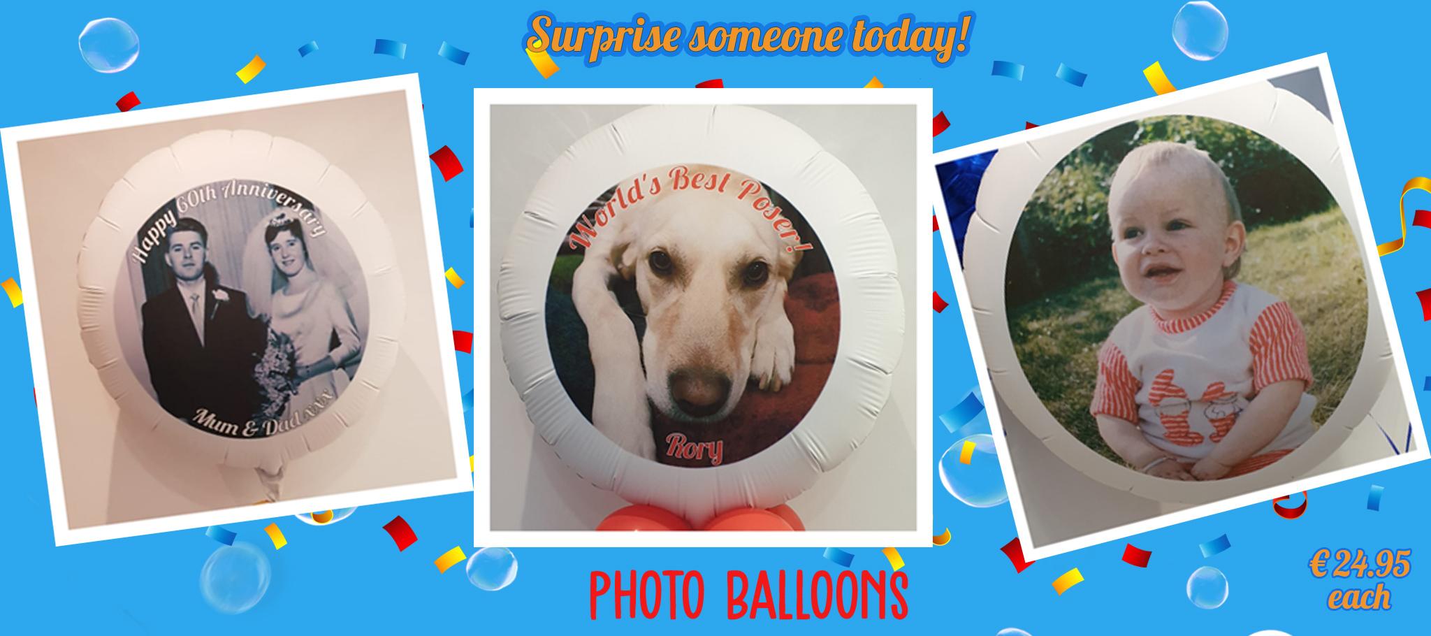 Photo balloon – €24.95